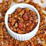 Hazelnut Espresso Granola- Healthy, filling and a delicious breakfast or snack!