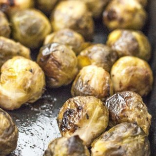 Copycat Whole Foods Balsamic Roasted Brussels Sprouts
