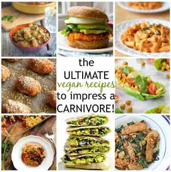 The Ultimate Vegan Recipes to impress a carnivore- These recipes are so delicious, hearty and tantalising, it will impress even the biggest meat eater! @thebigmansworld -thebigmansworld.com