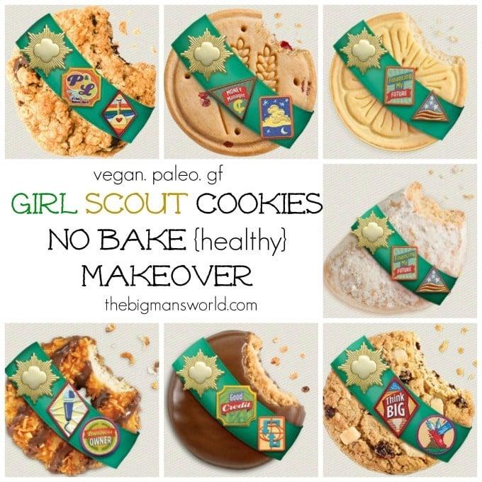 Girl Scout Cookies {healthy + no bake} makeover! @thebigmansworld - thebigmansworld.com