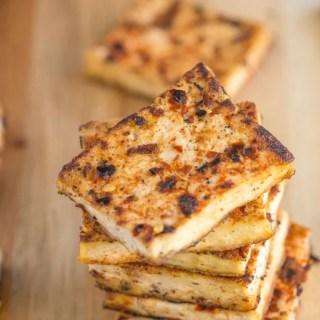 Pan Seared Tandoori Tofu
