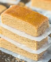 No Bake Apple Pie Protein Bars Recipe