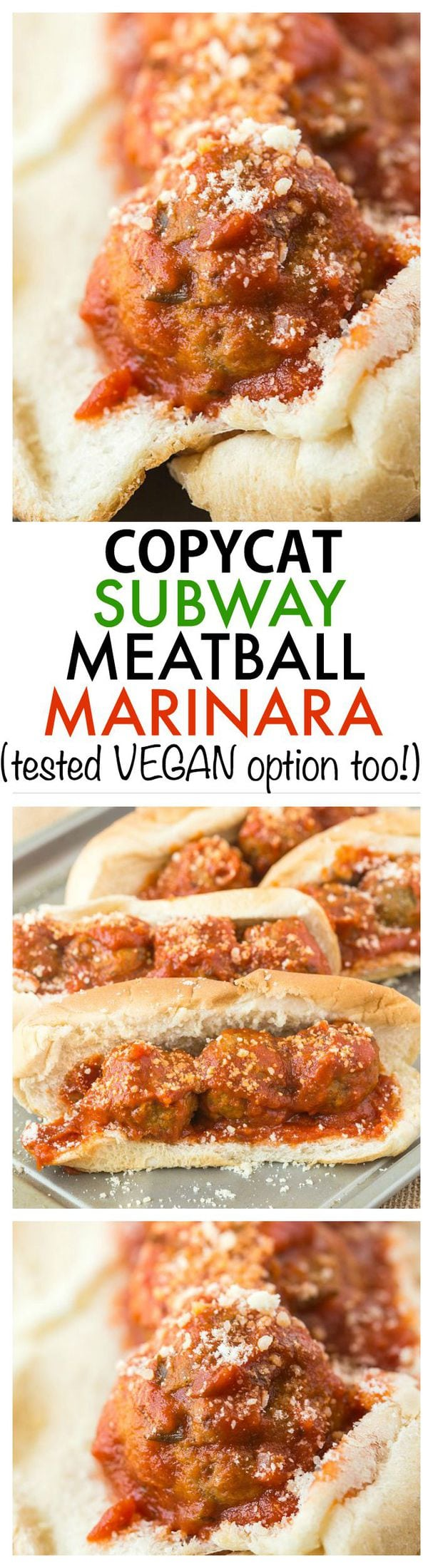 recipe: meatball marinara subway recipe [12]