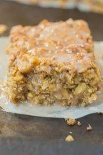 Sticky Cinnamon Roll Baked Oatmeal (Vegan, Gluten Free)