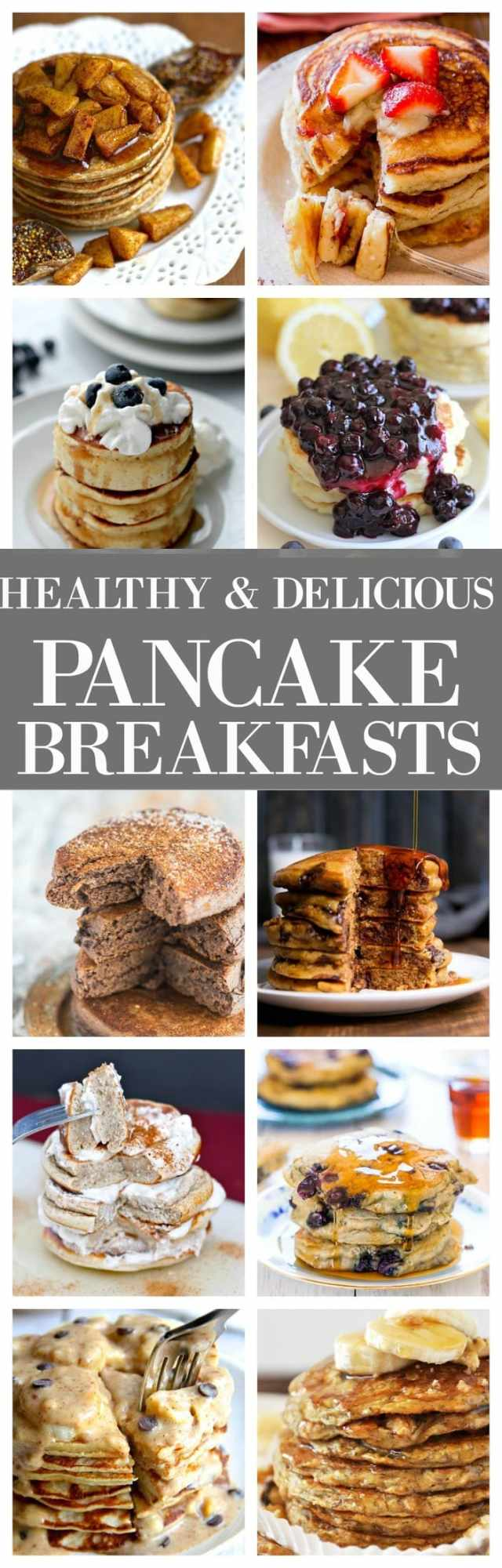 Healthy and Delicious pancakes to take your breakfast to the next level- Options for EVERYONE!