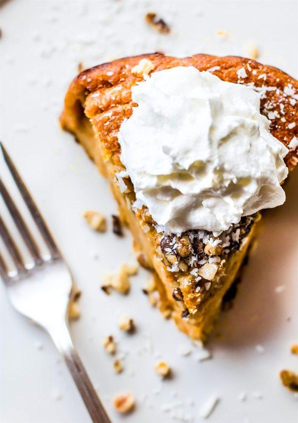 Impossible Sweet Potato Pie