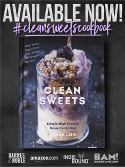 Clean Sweets Cookbook- AVAILABLE NOW!