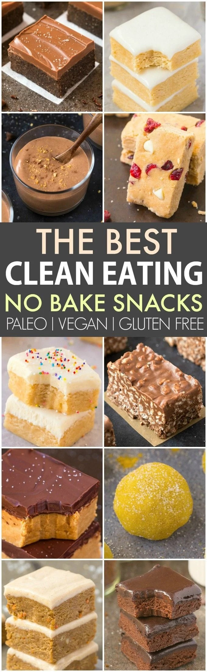 Clean Eating Healthy No Bake Snacks (V, GF, P, DF)- Quick, easy and healthy no bake snacks which take minutes and are protein packed + sugar free! {vegan, gluten free, paleo recipe}- thebigmansworld.com