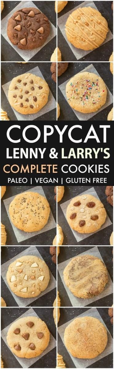 Copycat Lenny & Larry's Complete Cookies (10 Flavors)