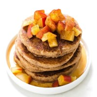 Paleo Vegan Apple Pie Pancakes recipe