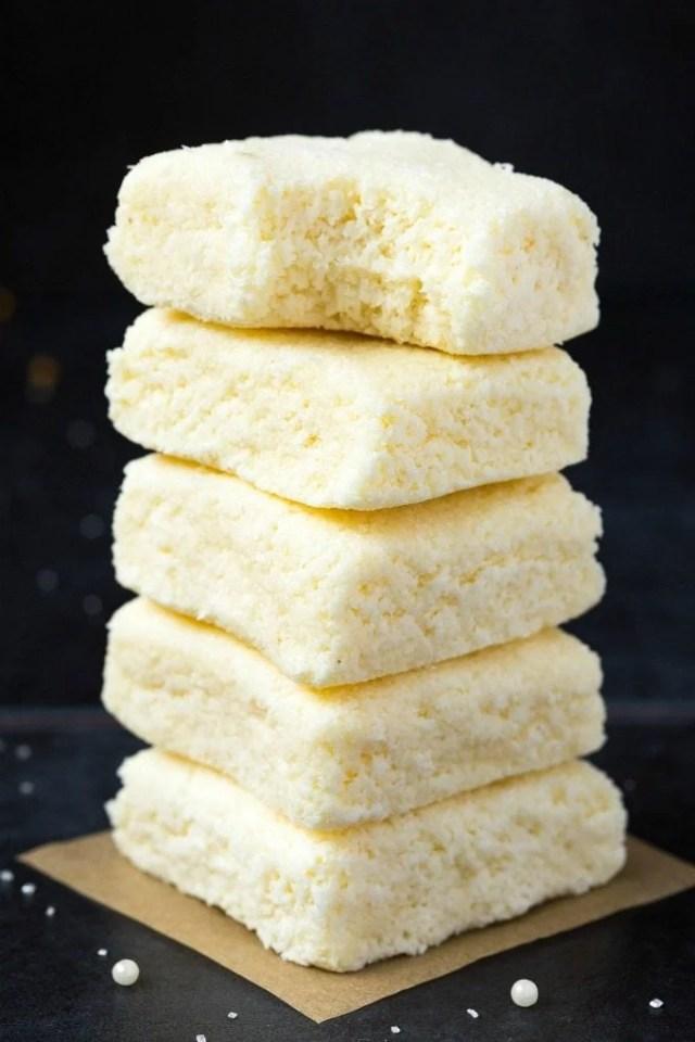 3-Ingredient No Bake Coconut Crack Bars