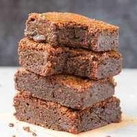 Easy 3-Ingredient Keto Low Carb brownies