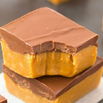 Healthy No Bake Pumpkin Fudge Bars