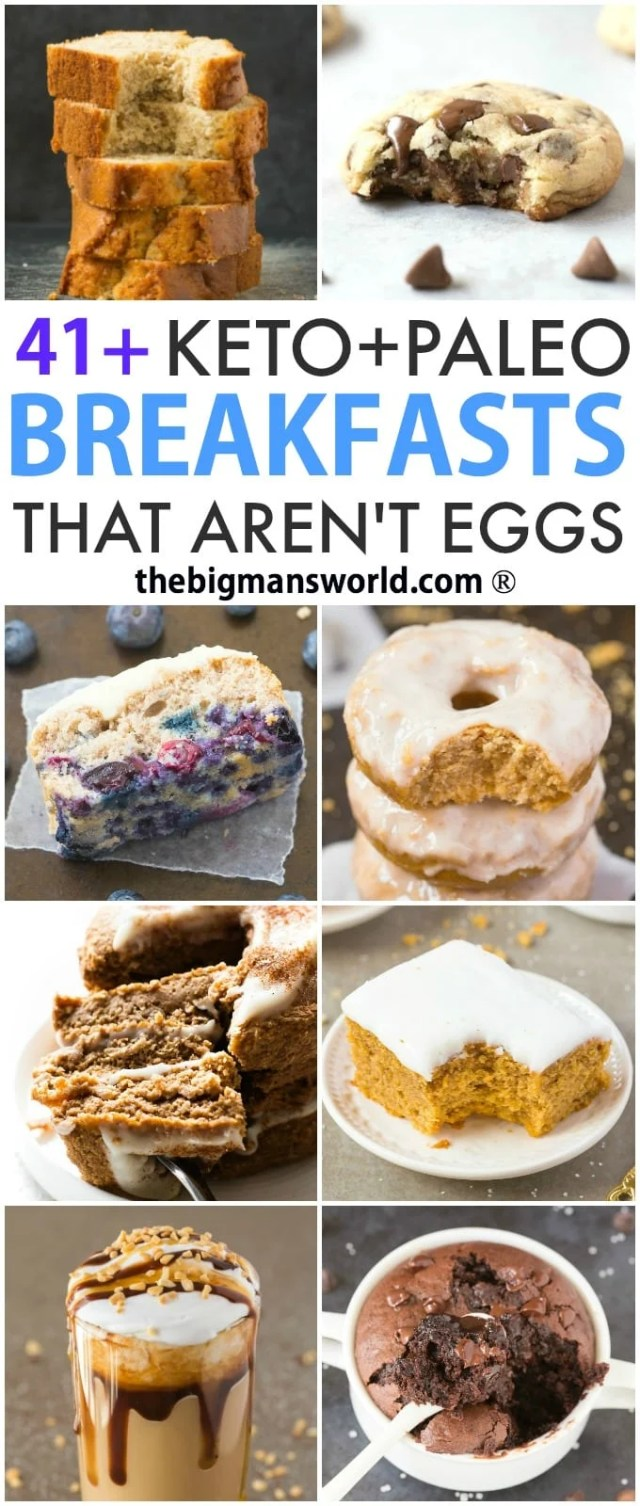41 Keto And Paleo Breakfasts That Aren T Eggs