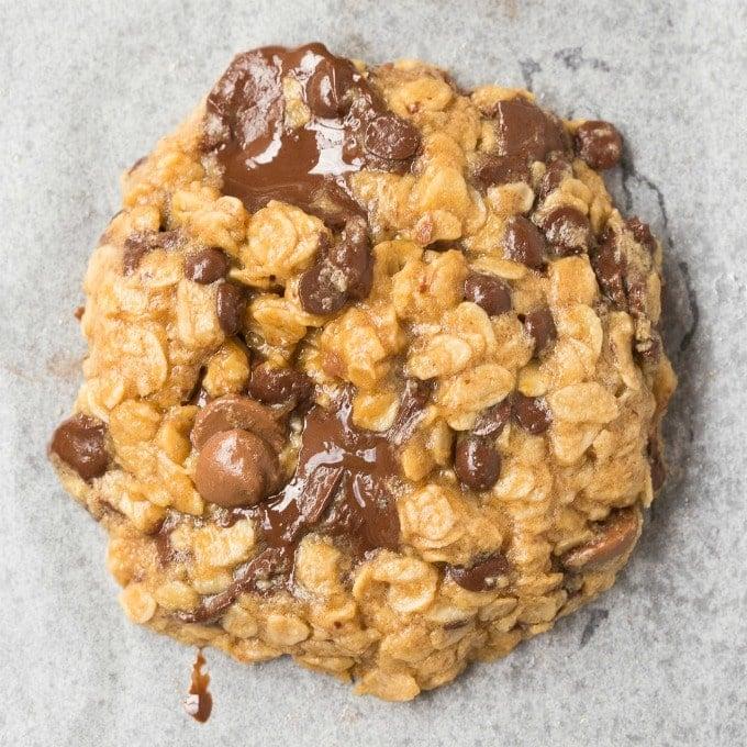 3 Ingredient Oatmeal Breakfast Cookies (Vegan, Gluten Free