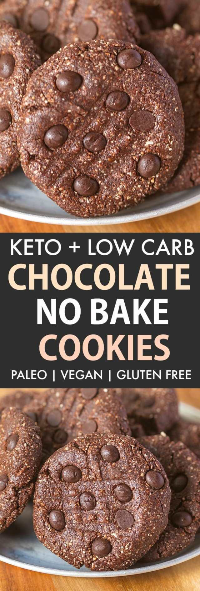 Keto chocolate no bake cookies