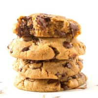 Keto flourless chocolate chip cookies without eggs