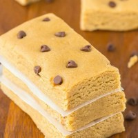 Keto Protein Bars with chocolate chips