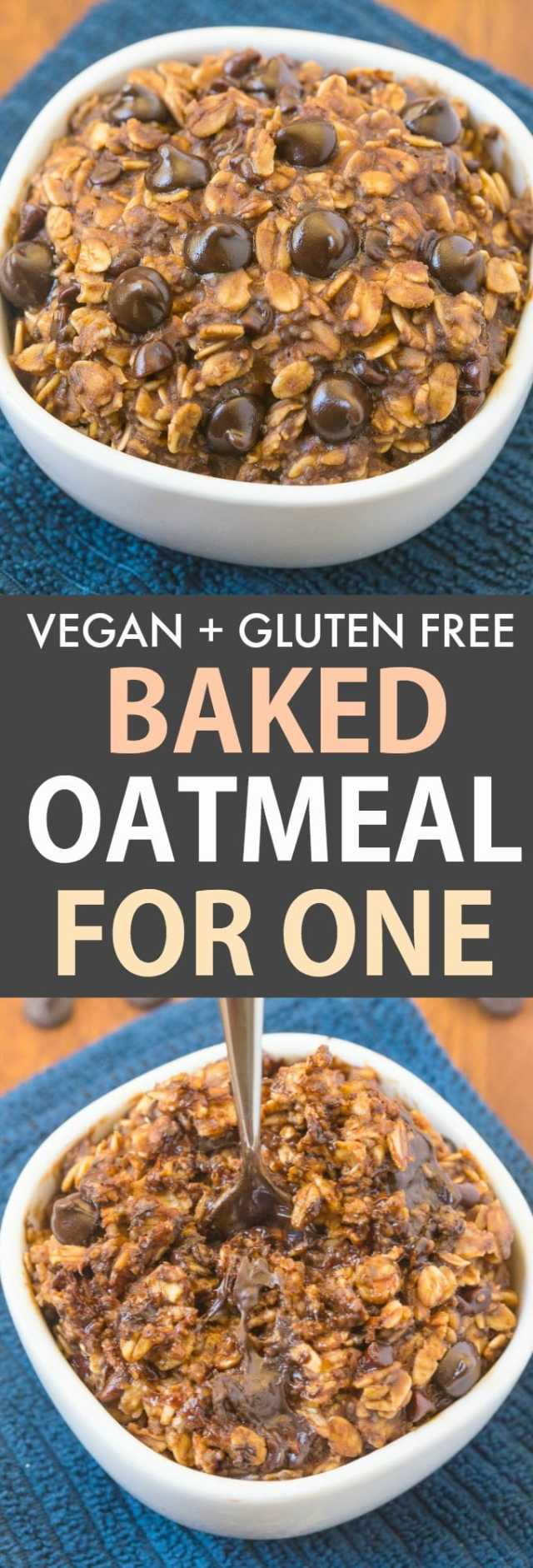 The BEST baked oatmeal recipe
