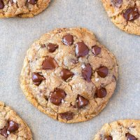 Vegan Sugar Free Chocolate Chip Cookies Gluten Free
