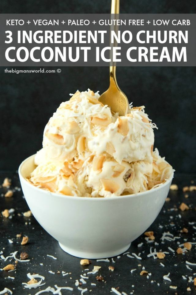 Easy coconut milk keto ice cream recipe