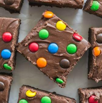 Healthy Homemade Cosmic Brownies Recipe