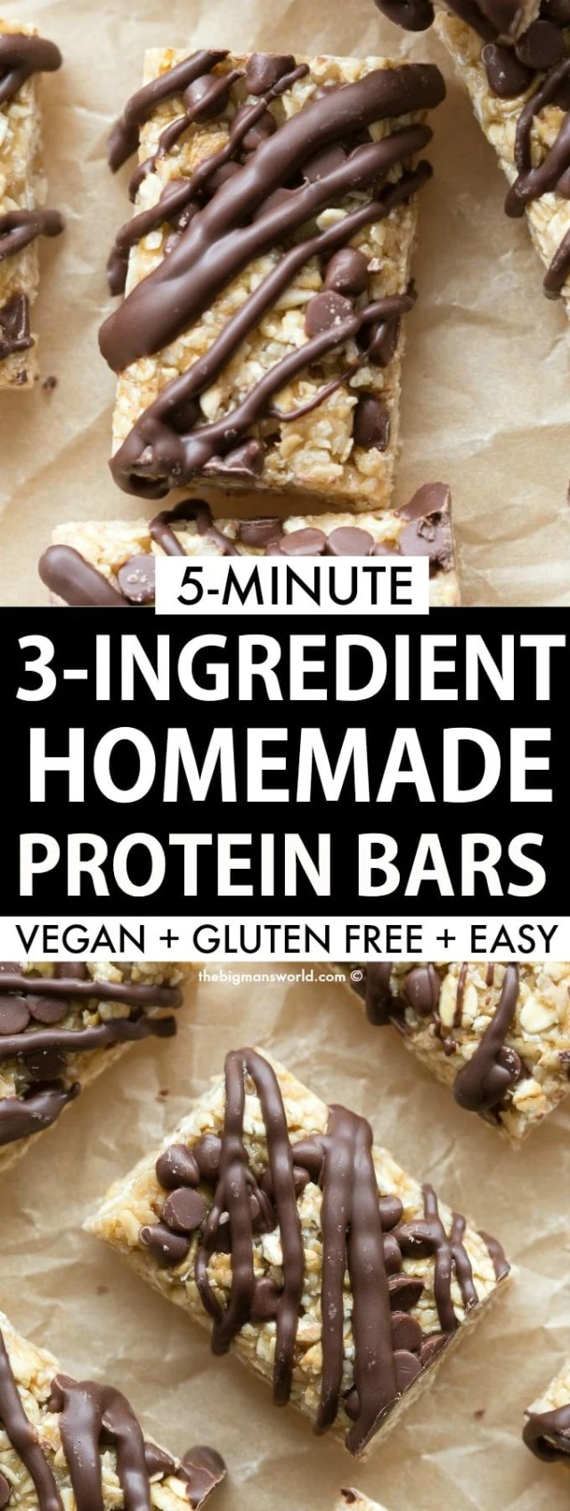 Easy homemade no bake protein bar recipe