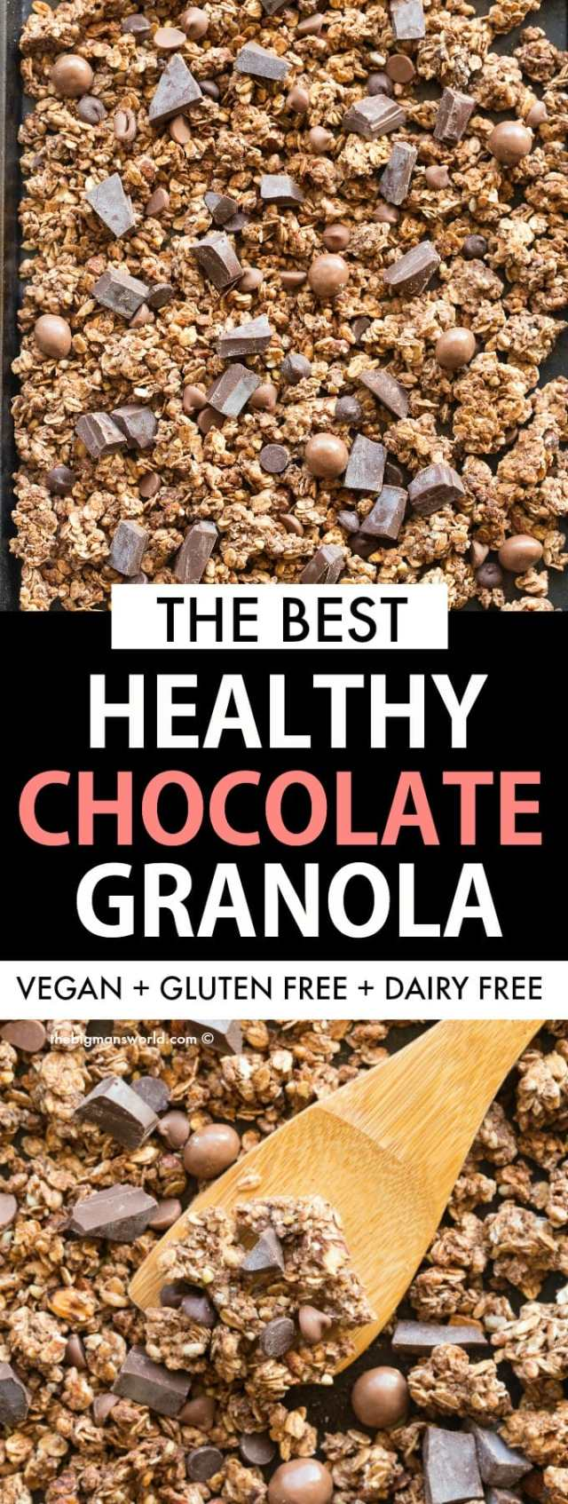 Best healthy chocolate granola recipe