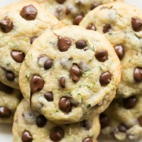 Keto vegan and paleo chocolate chip zucchini cookies recipe
