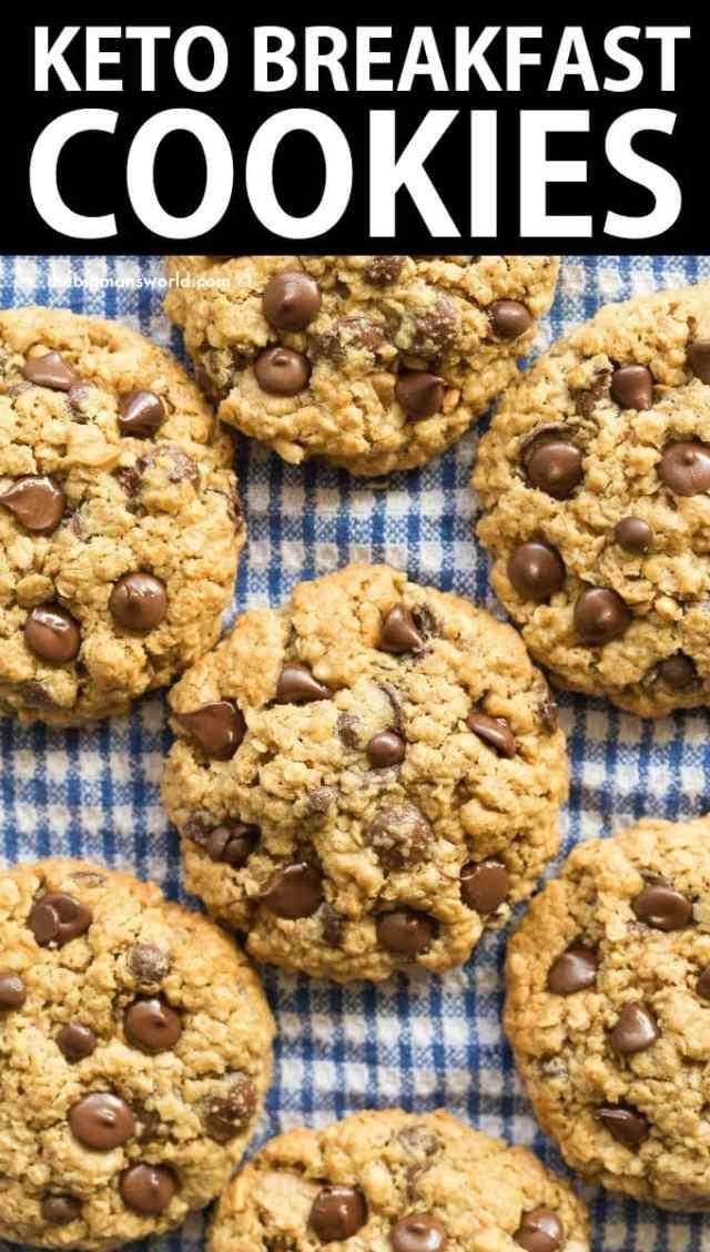 Keto Breakfast Cookies Recipe
