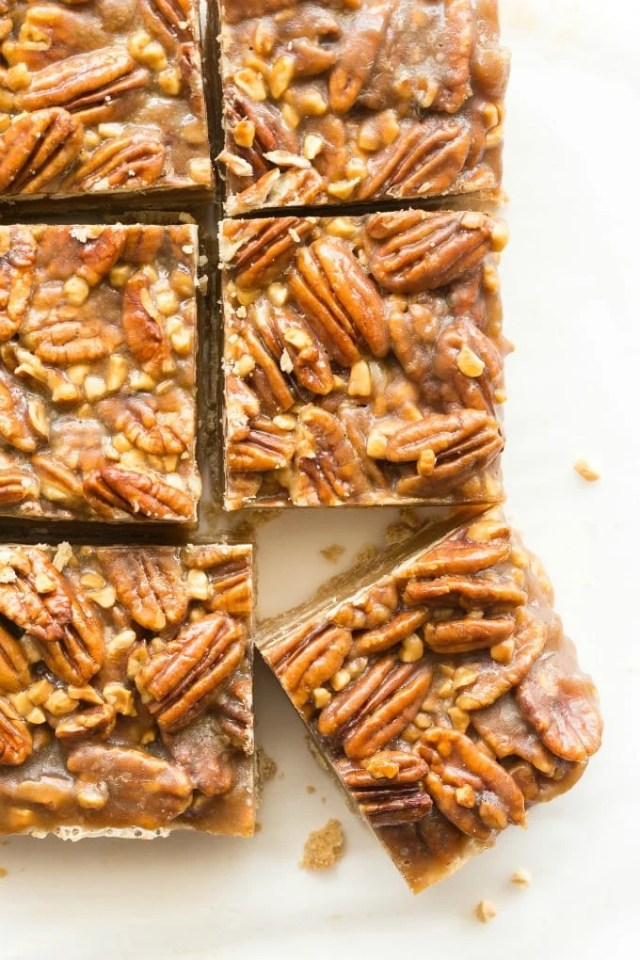 Pecan Pie Dessert Bars Recipe