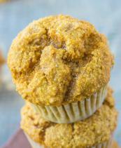 vegan gluten free sweet potato muffins