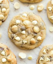 Sugar free white chocolate and macadamia nut cookie recipe