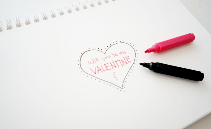 Valentinstag DIY Gutschein Karte Rubbellos II