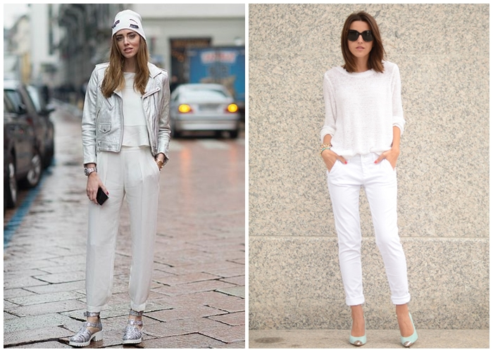 chiara ferragni lovely pepa blogger look outfit all white