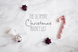 Christmas Weihnachts Bucket List