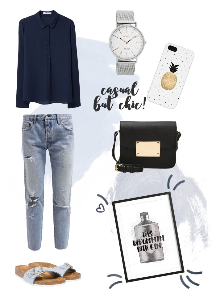 style inspiration casual but chic outfit