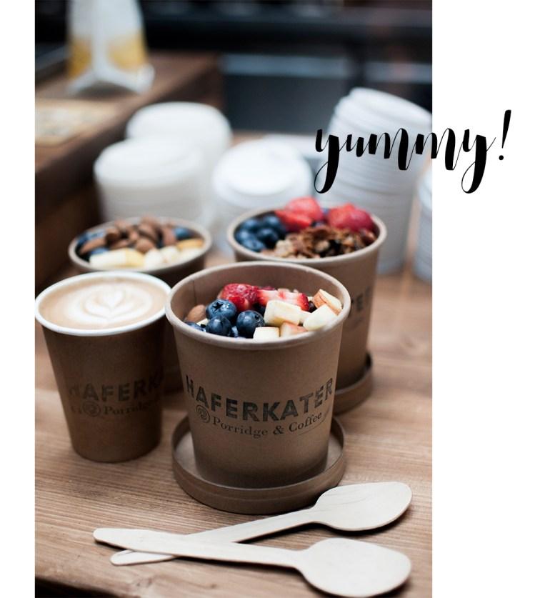 Haferkater Berlin Hauptbahnhof Porridge Coffee to go