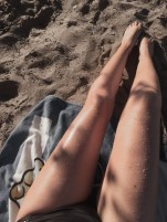 legs summer sun wet beaching swimming