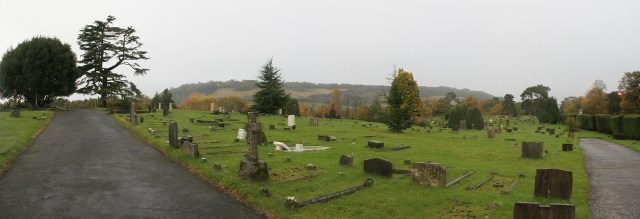 Dorking Cemetery Panorama 4