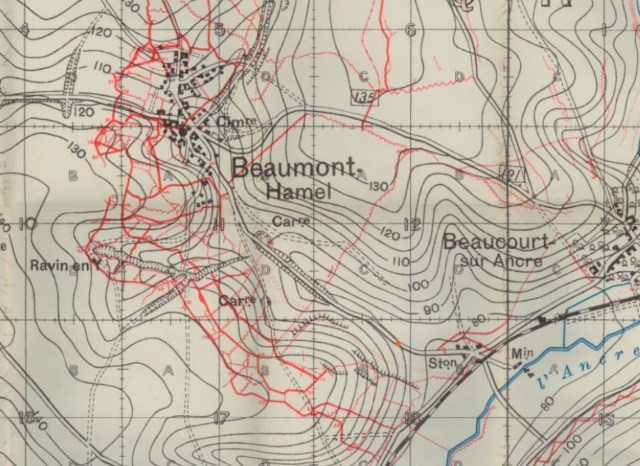 Beaumont Hamel German Trenches