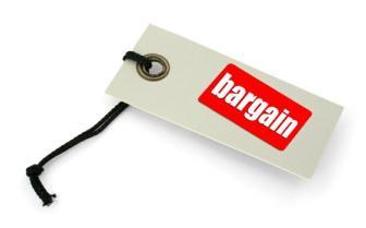 Bargain-Tap