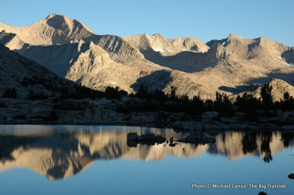 Lake Marjorie, Kings Canyon N.P.,