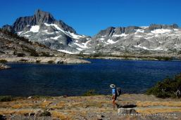 Banner Peak, Thousand Island Lake, John Muir Trail, Ansel Adams Wilderness.
