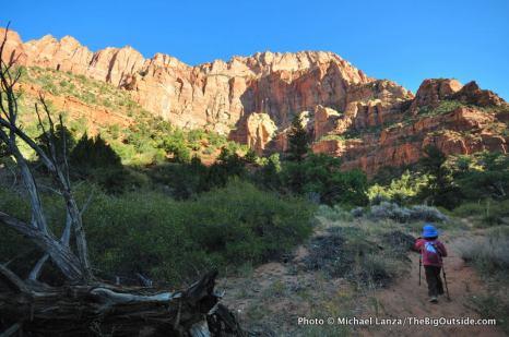 La Verkin Creek Trail.