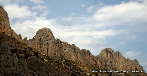 Bernia Ridge.