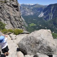 Upper Yosemite Falls Trail.