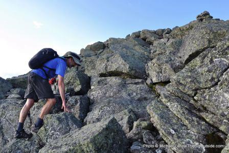 Hiking Mount Adams.