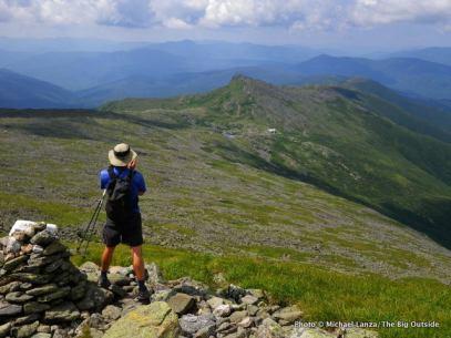 The Crawford Path on Mount Washington.