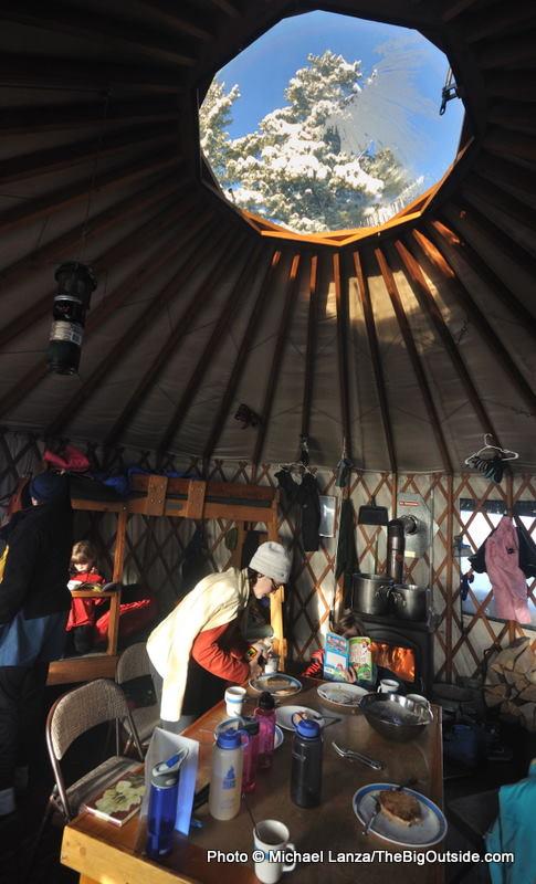 Skyline yurt.
